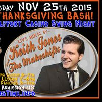 Pre-Thanksgiving Swing Bash w Keith Jones &amp the Makeshifts