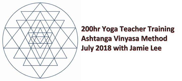 200 hr Yoga Teacher Training with Jamie Lee