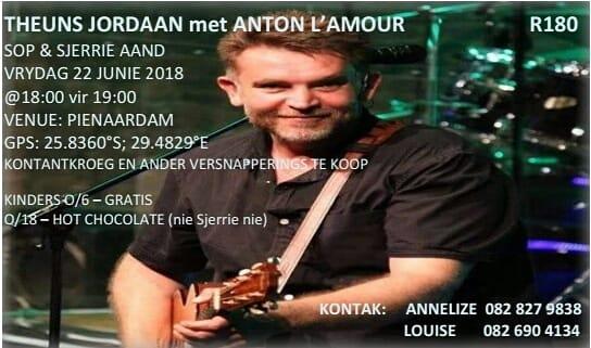 Theuns Jordaan Konsert