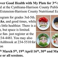 Discover Good Health with My Plate for 3rd-5th Grade
