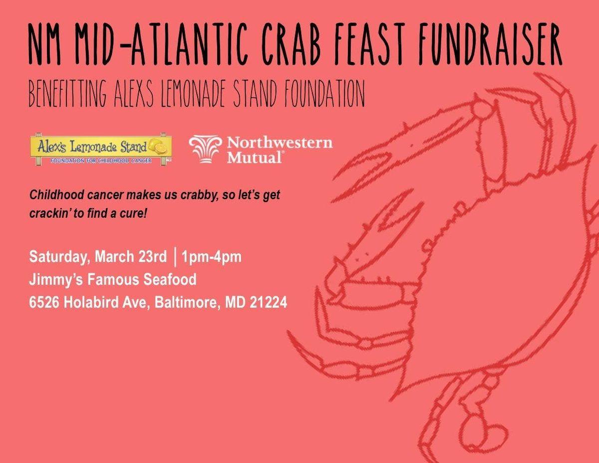 Crab Feast for Alexs Lemonade Stand Foundation