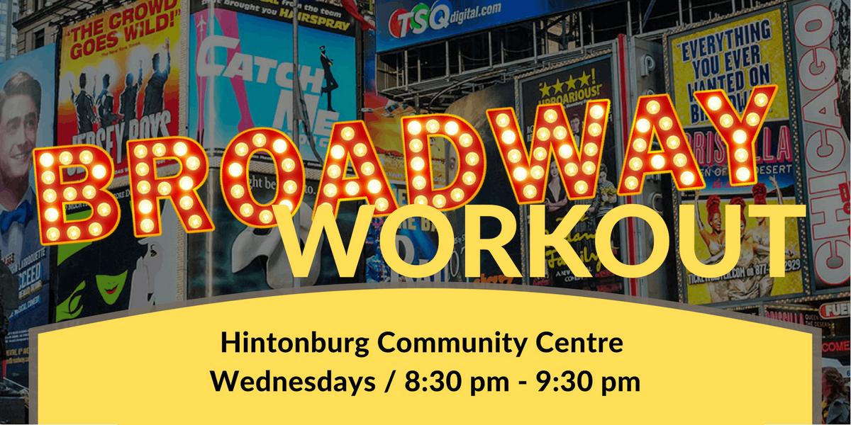 Broadway Workout - Hintonburg March 6