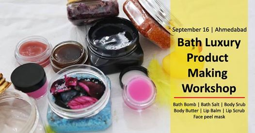 Bath Luxury Product Making Workshop