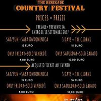 Renegade Country Festival 2017  OLD WILD WEST c