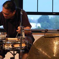Tatsuya Nakatani and Grant Evans at Trio