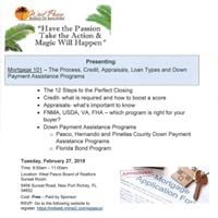 Mortgage 101 - The Process Credit Appraisals Loan Types and