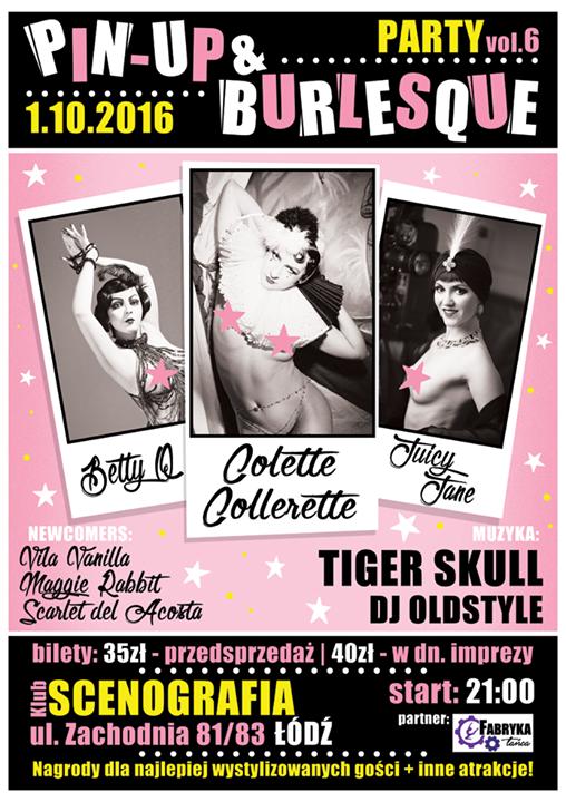 Znalezione obrazy dla zapytania pin up burlesque party 6