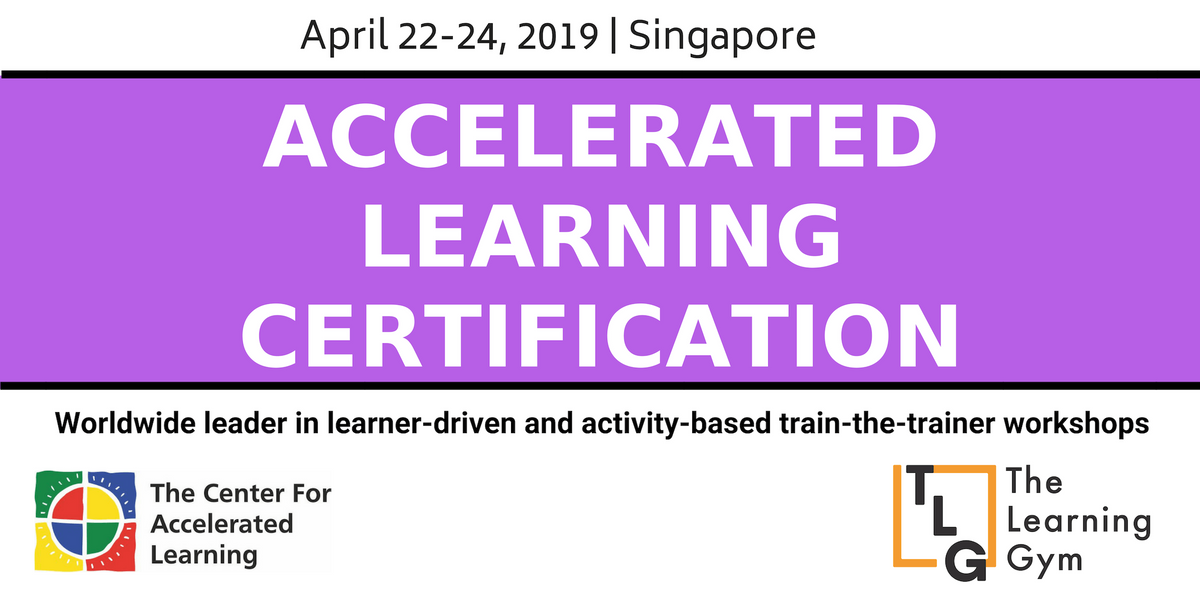 Accelerated Learning Certification in Singapore