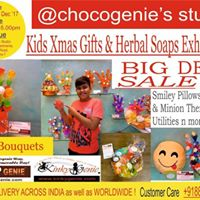 Chocogenies Kids Xmas Gifts &amp Herbal Soap Exhibition &amp Sale