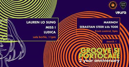 Groove i Portocale 2YRS w Lauren Lo Sung Miss I Ludica