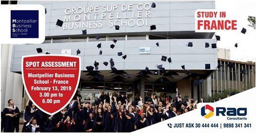 Montpellier Business School - Spot Assessment