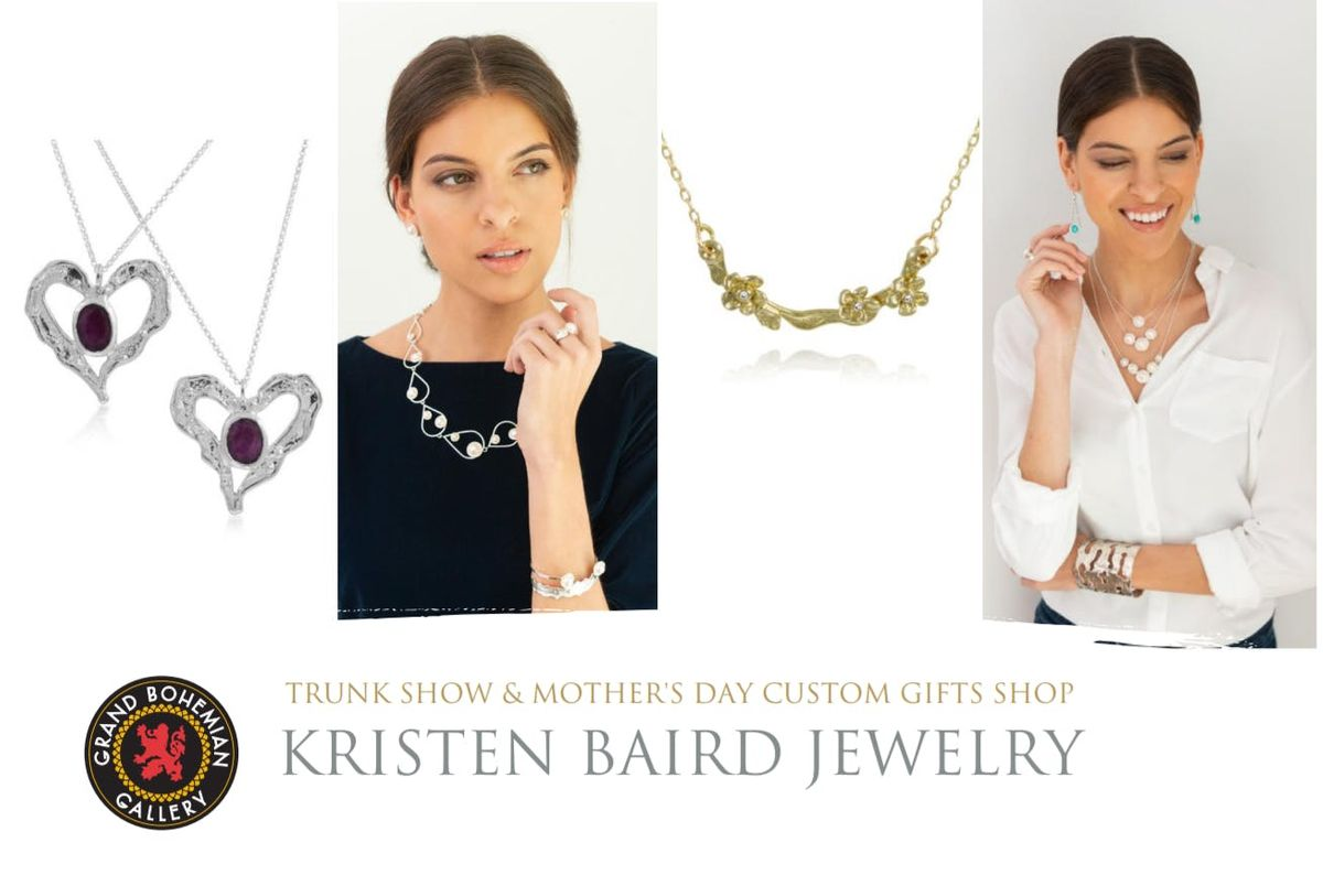 Kristen Baird Jewelry Trunk Show & Mothers Day Custom Gifts Shop
