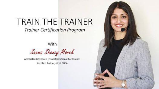 Train The Trainer (Dual Certification Program)