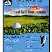 Hawk Wrestling Golf Tournament