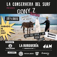 La Conservera del surf presenta &quotgony series&quot 2017