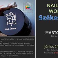 Nail Artists ingyenes Workshop Szkesfehrvron  A folytats