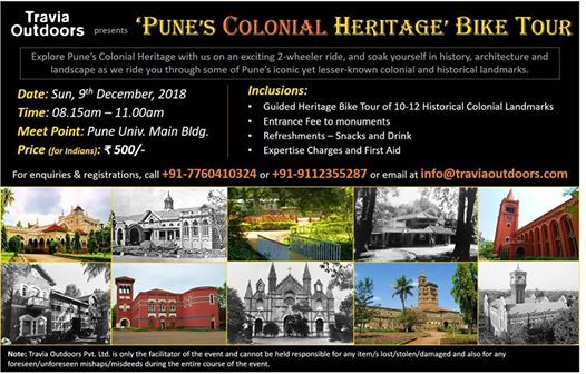 Punes Colonial Heritage Bike Tour
