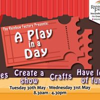 Half Term Holiday Club Create a Play in a Day