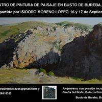 I Encuentro de pintura de paisaje en Busto de Bureba (Burgos)