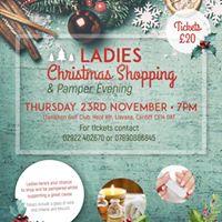 Ladies Christmas Shopping &amp Pamper Evening