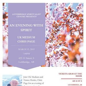 Mediumship Demonstration with UK Medium Chris Page
