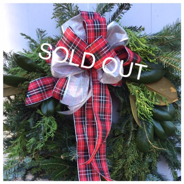 SOLD OUTFresh Wreath workshop