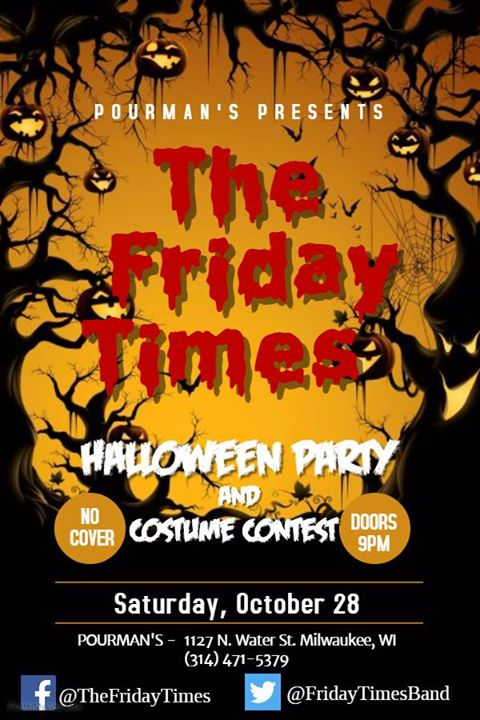 the friday times halloween party and costume contest