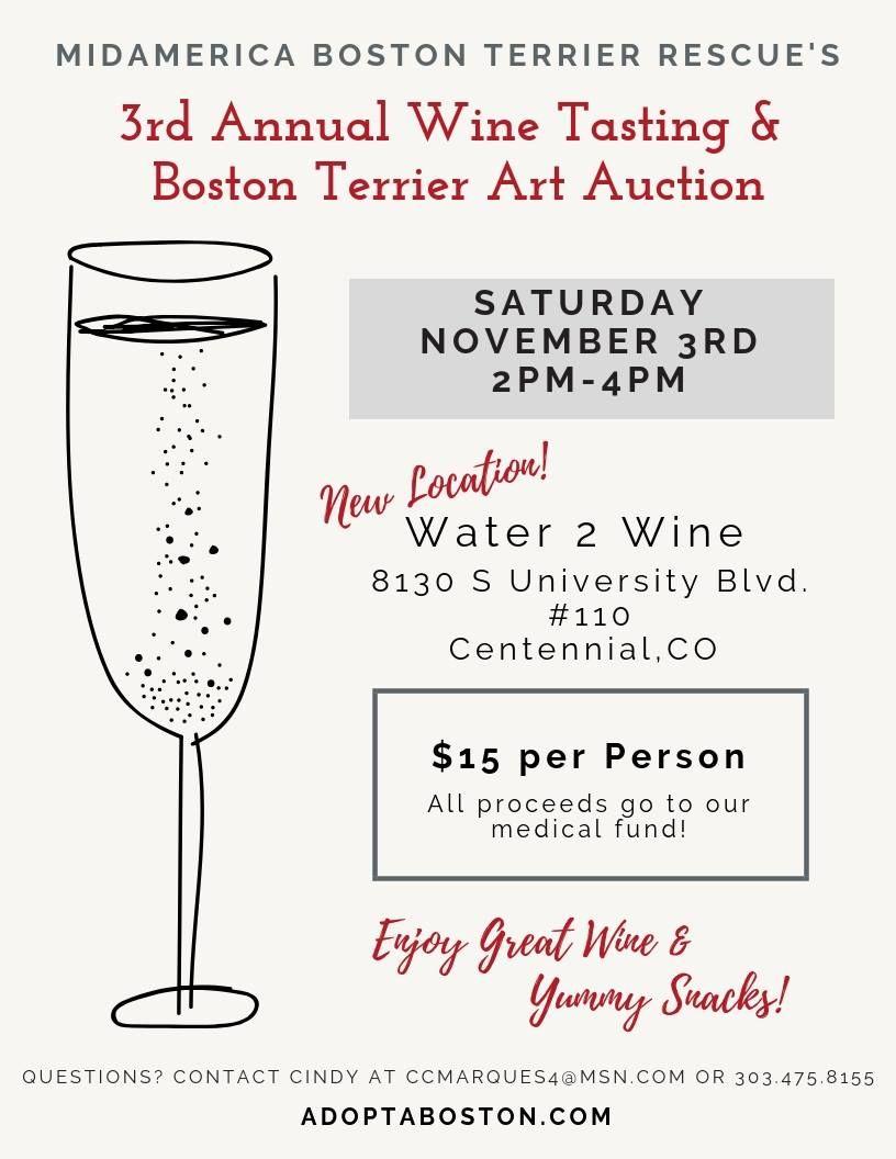 Wine Tasting Art Auction Water 2
