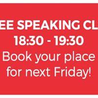 Free English Speaking Club (Oxford Street)