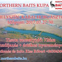II. Northern Baits Kupa bojlis horgszverseny a Kabai Horgsztavon