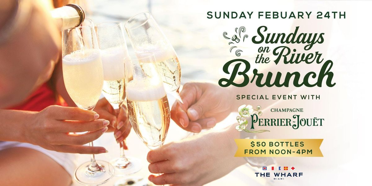 Sundays On The River Brunch with Perrier-Jout