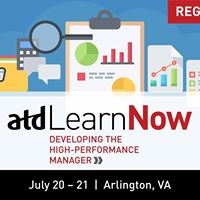 ATD LearnNow Developing The High-Performance Manager