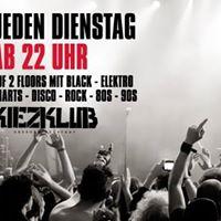 Studentenklubnacht - Dienstag 04.07.17 - Kiezklub