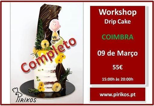 Workshop Drip Cake Coimbra