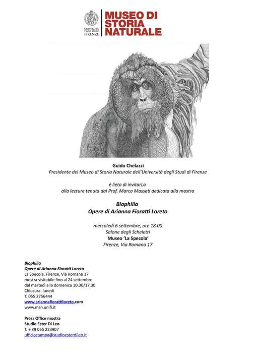 Finissage Mostra Biophilia - Opere di Arianna Fioratti Loreto