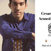 Cesar Mora _ Acoustic Night
