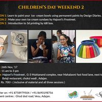 Permanent Glass Painting Workshop - Childrens Day Weekend 2