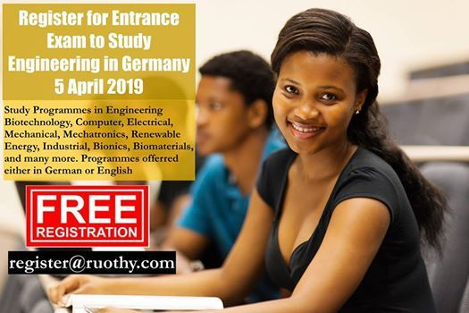 Study in Germany Entrance Exam for Engineering