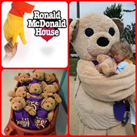 For the LOVE of the Kids - Junior League Gifts Hope The Bear to Ronald McDonald House &amp Lauren Small Childrens Memorial Hospital