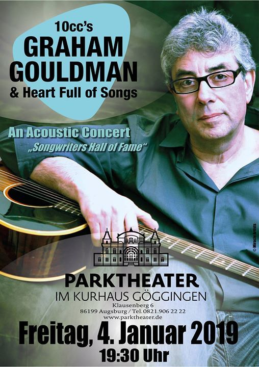 10ccs Graham Gouldman & Heart Full Of Songs