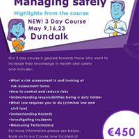 IOSH Managing Safely Dundalk