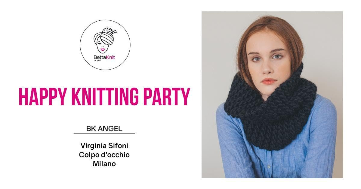 Knitting Party - Snood for Good - MILANO
