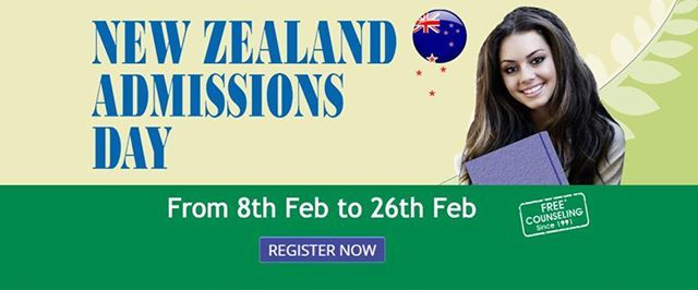 New Zealand Admissions Day in Coimbatore