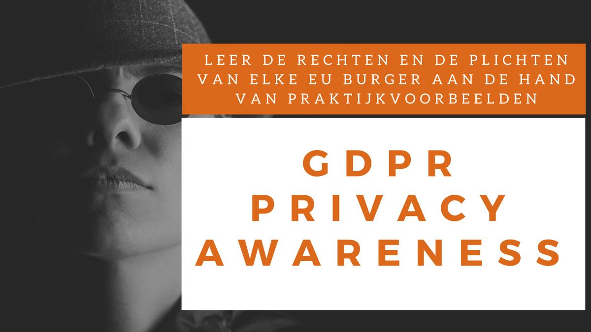 Privacy Awareness Klassikale Training (Nederlands)