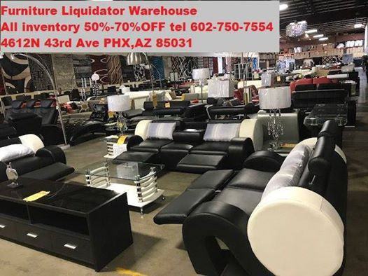 50%70%Off At Furniture Liquidator Warehouse, Phoenix