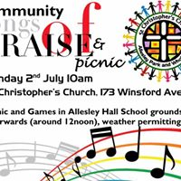 Community Songs of Praise and Picnic