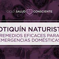 Botiqun Naturista  Remedios para emergencias domsticas