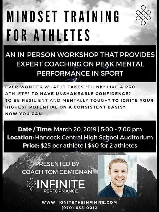 Mindset Training for Athletes Workshop