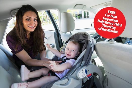 Free Car Seat Inspection Station At United Training Center Maine