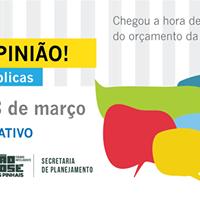Oramento Participativo (LDO 2018) - Cruzeiro e regio